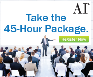 Register for 45 Hour Package