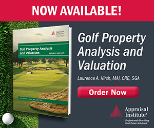 Golf Property Analysis and Valuation