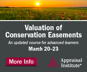 Valuation of Conservation Easements