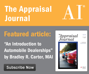 The Appraisal Journal Summer 2015
