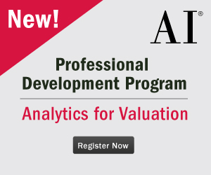 Analytics for Valuation