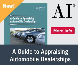 Appraising Automobile Dealerships - Available Now!