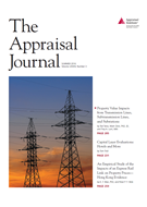 The Appraisal Journal