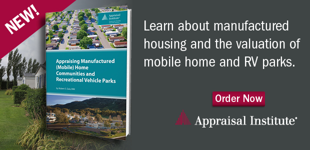 Appraising Manufactured (Mobile) Home Communities and Recreational Vehicle Parks