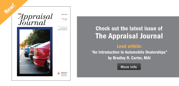 The Appraisal Journal, Summer 2015