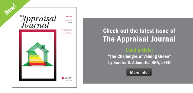 The Appraisal Journal Winter 2015