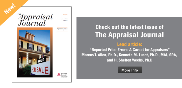 The Appraisal Journal, Fall 2015