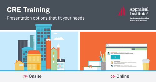 CRE Training: Presentation options that fit your needs