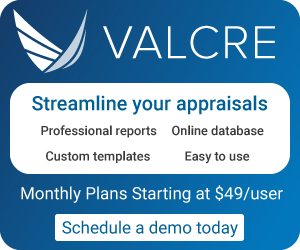 Streamline your appraisals with Valcre