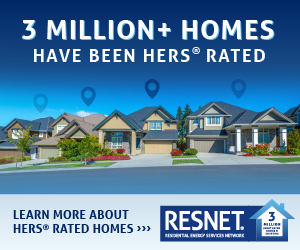 RESNET 3 Million Homes Have Been HERS Rated