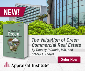 The Valuation of Green Commercial Real Estate by: by Timothy P. Runde, MAI, and Stacey L. Thoyre