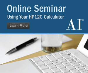 Using Your HP12C Calculator