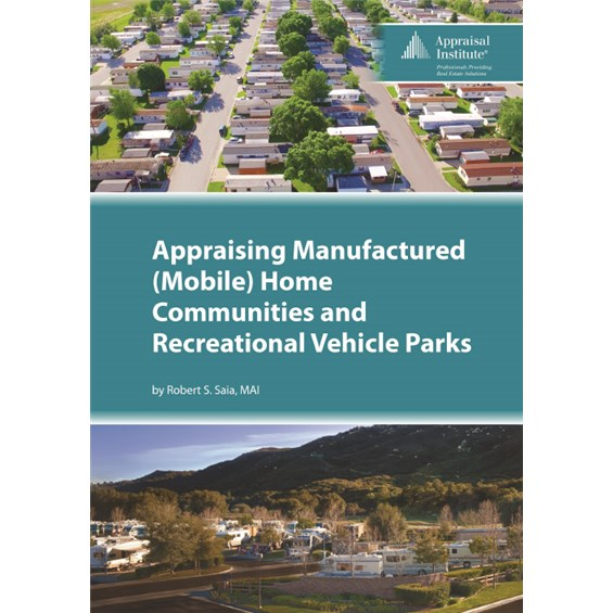 Appraising Manufactured (Mobile) Home Communities and Recreational on real estate home, dance home, investment home, personal home, fishing home, irrigation home, motorcycle home,