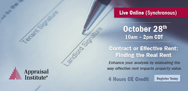 Contract or Effective Rent: Finding the Real Rent