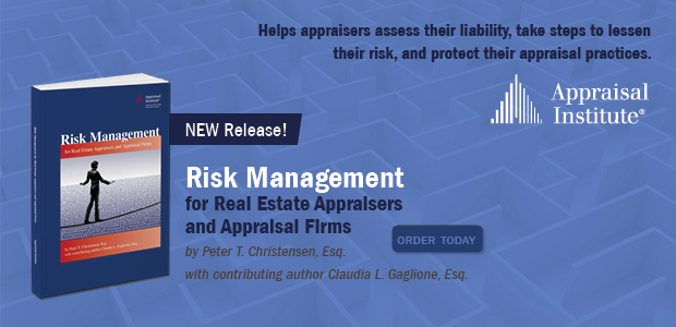 Risk Management for Real Estate Appraisers and Appraisal Firms Book