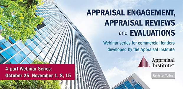CRE Appraisal Institute Education for Lenders