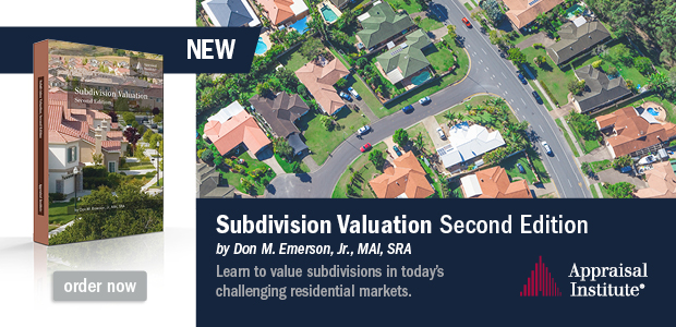 Valuation of Subdivisions