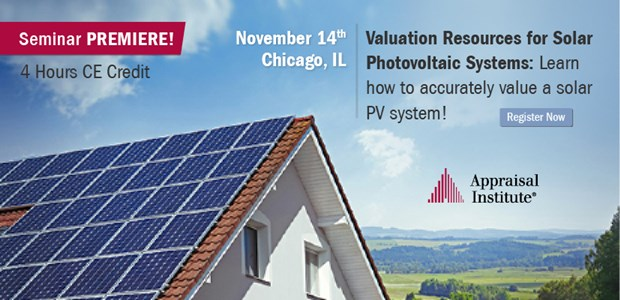 Valuation Resources for Solar - November 14th | Chicago, IL