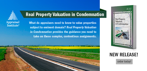Real Property Valuation in Condemnation