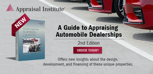 Appraising Automobile dealerships