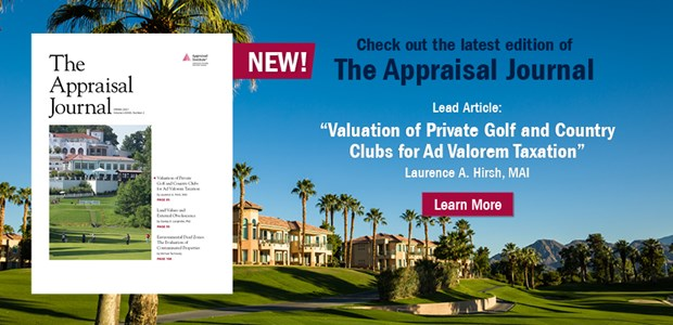 The Appraisal Journal Winter 2021